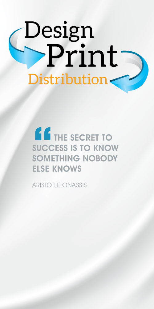 The Secret to Success is to know something Nobody Else Knows.